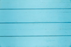 Background of turquoise wood paneling Stock Photo