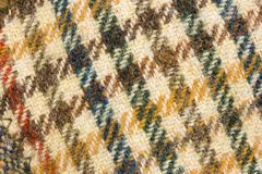 Background tweed wool fashion Royalty Free Stock Images