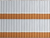 Background from two numbers of cigarettes Royalty Free Stock Photography