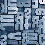 Background type. Background typography set. Abstract composition Stock Photos