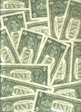 Background of U.S. banknotes Stock Photo