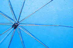 Background with umbrella Royalty Free Stock Image