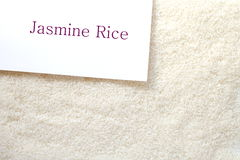 Uncooked white rice Royalty Free Stock Image