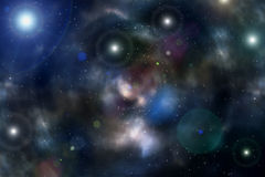 Background universe deep space star nebula Royalty Free Stock Image