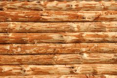 Background of untreated logs Stock Photos