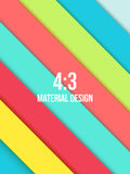 Background Unusual modern material design. Abstract Vector Illustration Royalty Free Stock Photo