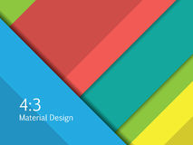 Background Unusual modern material design. Format 16:9 . Vector Illustration. Royalty Free Stock Photo