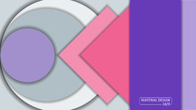 Background Unusual modern material design. Format 16:9 Stock Image