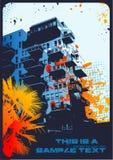 background urban Διανυσματική απεικόνιση