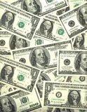 Background of US dollar bills Stock Photography