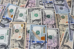 Background of USD dollars. Background of USD dollar bills Stock Photos