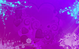 Background for valentine Royalty Free Stock Photo