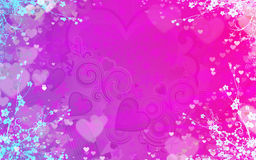 Background for valentine Royalty Free Stock Photography