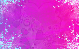 Background for valentine Royalty Free Stock Photos