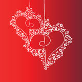 Background valentine day Stock Photo
