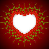 Background by the Valentine's day Royalty Free Stock Photos