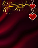Background by the Valentine's day Stock Images