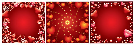 Background Valentine's Day Stock Images