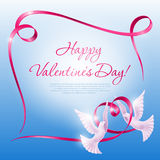 Background on Valentine's Day Stock Photos