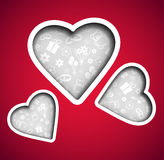 Background Valentine's Day Royalty Free Stock Photos