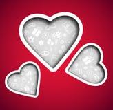Background Valentine's Day Royalty Free Stock Photos