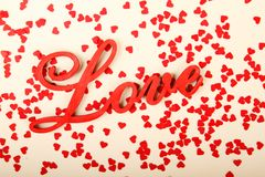 Background for Valentine's Day Royalty Free Stock Image