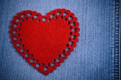 The background for Valentine's Day. Royalty Free Stock Photography