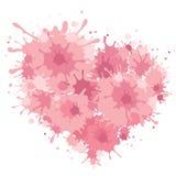 Background on Valentine's Day -- heart Stock Photo