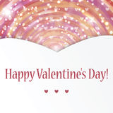 Background for Valentine's Day Stock Photography
