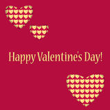 Background for Valentines Day Royalty Free Stock Photography