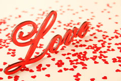 Background for Valentine's Day Stock Photos