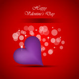 Background for Valentine`s day stylish flayer Stock Photo