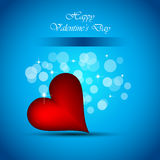 Background for Valentine`s day stylish flayer Royalty Free Stock Photo