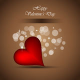 Background for Valentine`s day stylish flayer Stock Photography
