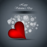 Background for Valentine`s day stylish flayer Royalty Free Stock Photography