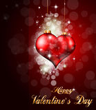 Background for Valentine's flyer Royalty Free Stock Image