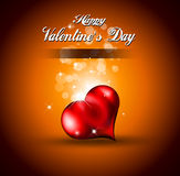 Background for Valentine's Stylish flyer Royalty Free Stock Images