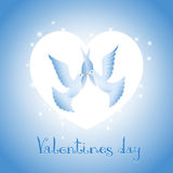 Background on Valentines Day Stock Photos