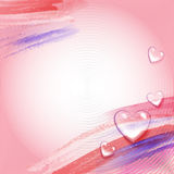 Background for Valentines day Royalty Free Stock Photos