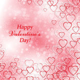 Background for Valentines Day with hearts. Background for your design and business Royalty Free Stock Images