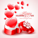 Background for Valentines Day Stock Photography