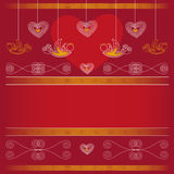 Background - Valentines Day. Vector background for Valentines Day Royalty Free Stock Images