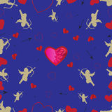 Background for Valentines Day. Vector Stock Images