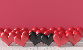 Background for valentone day. Stock Photos