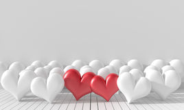 Background for valentone day. Stock Photography