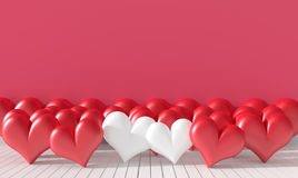 Background for valentone day. Royalty Free Stock Photos