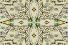 Background from a variety of hundred-dollar bills. Money money. Dollars background. Counterfeit money. Kaleidoscope Stock Photos