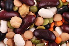Background from the various bean Stock Images