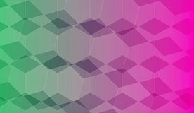 Background with various rectangles Royalty Free Stock Images