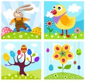 Background. Vector Illustration of a beautiful easter background Stock Images